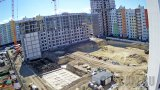 Webcam of the construction of the residential complex «Gorod Mira», Simferopol, Crimea (Simferopol, Russia)
