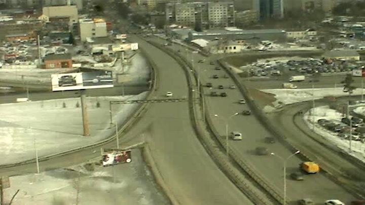 Веб-камера на перекрестке в Екатеринбурге