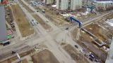 Webcam at the crossroads International - Neftyanikov (Nizhnevartovsk, Russia)
