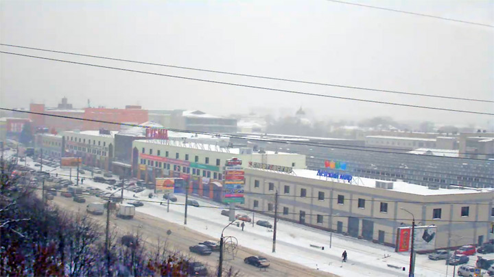 Веб-камера на проспекте Калинина в Твери
