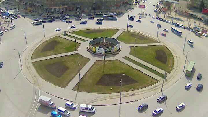Веб-камера на площади Калинина