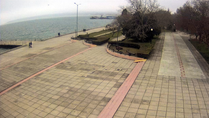 Webcam on the promenade of Kerch