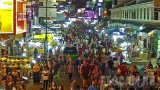 Webcam on Khaosan Road, Bangkok, Thailand