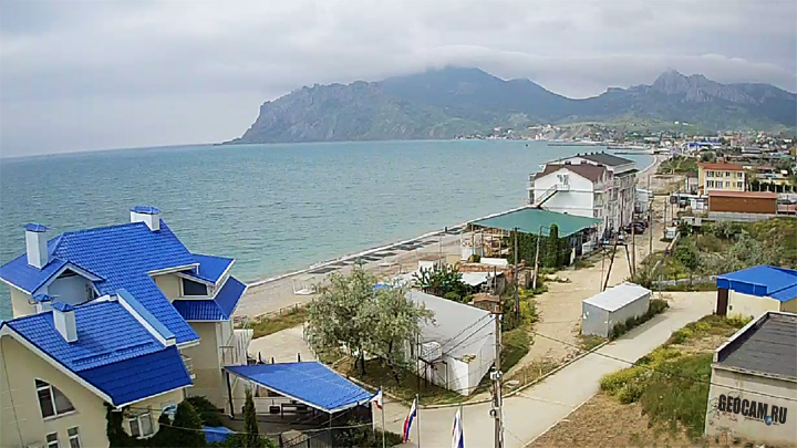 Koktebel webcam, Crimea: Koktebel webcam