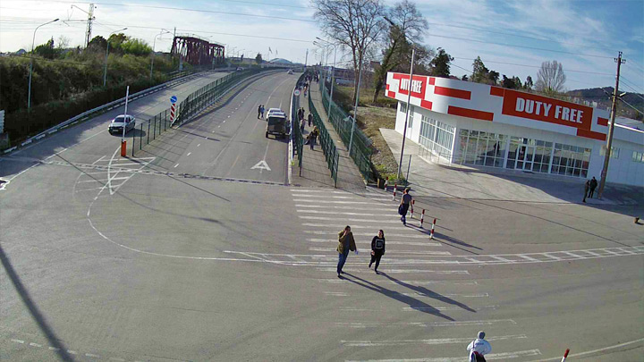 Webcam at the checkpoint «PSOU» exit