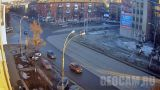 Crossroad of Krasnoarmeyskaya - 50 years of October (Kemerovo, Russia)