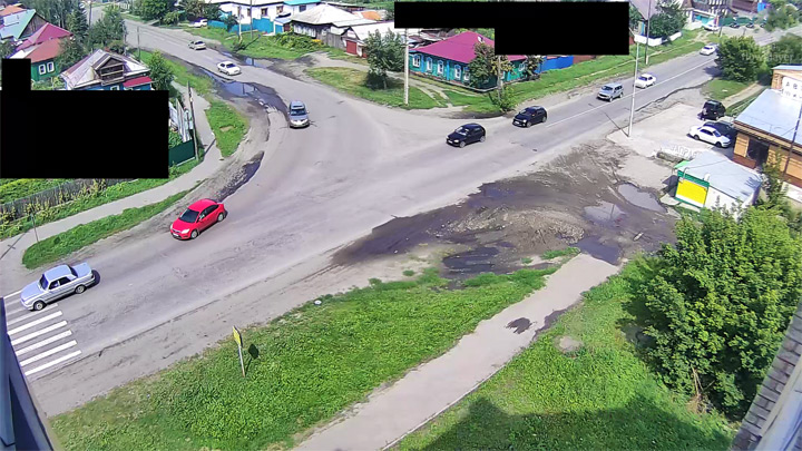 Webcam at the crossroads of Krasnooktyabrsk/Krasnoyarsk, Biysk