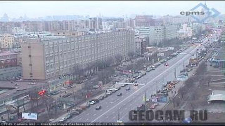 Веб-Камера на площади Крестьянской Заставы