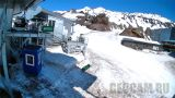 Prielbrusye Webcam: «Horizon» station (view of Mout Elbrus)