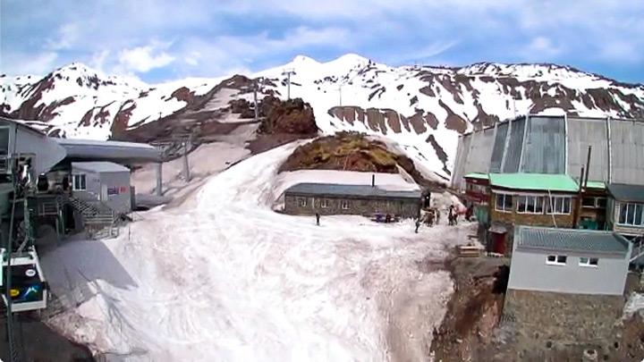 Веб-камера Приэльбрусья: станция «Кругозор»