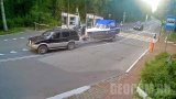 Webcam at the entrance to the Curonian Spit National Park, Russia