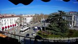 Lazarev Square Webcam, Sevastopol city, Crimea