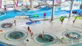 PTZ webcam of the water park «Lebyazhy», Minsk