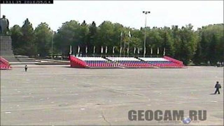 Площадь им. В.И.Ленина в Ульяновске