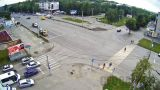 Webcam at the crossroads of Lenin/Kommunarskiy of Biysk city (Biysk, Russia)