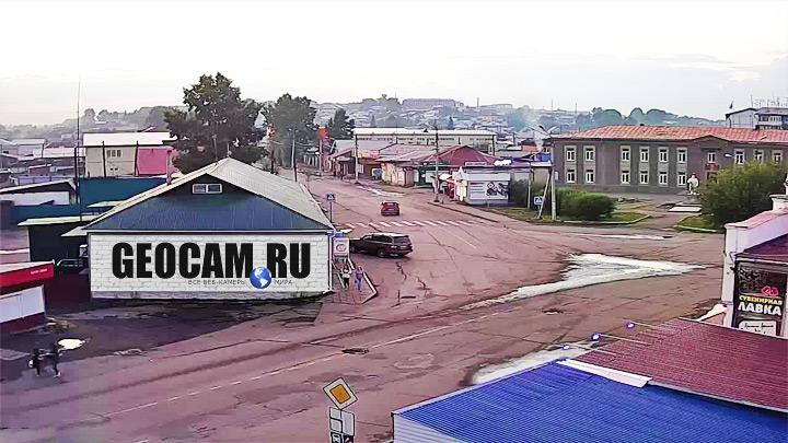 Webcam at the intersection of Lenin and Volodarsky streets