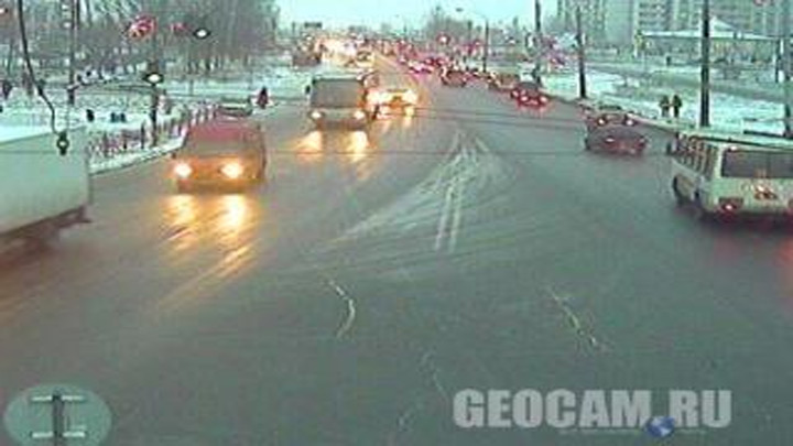 Leningradskiy avenue webcam
