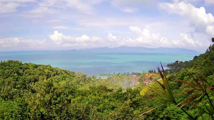 The Lookout Samui webcam