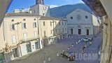 Webcam on the Square of Martyrs of Liberty, Gualdo Tadino, Italy