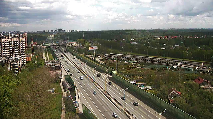Minsk Highway Webcam