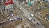 Webcam at the crossroads of Mir - Neftyanikov (Nizhnevartovsk, Russia)
