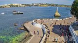 Webcam on the Kornilov Embankment in Sevastopol (Sevastopol, Russia)