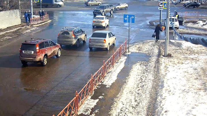 Перекрёсток Московского проспекта и Силикатного шоссе