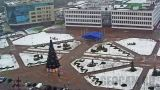 Webcam nearby the administration building of the Moscow district of Brest