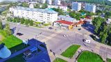 Webcam at the crossroads Myasnikova-Partizanskaya, Belokurikha