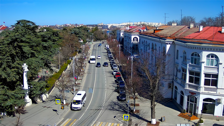 Webcam on Nakhimov Avenue, Sevastopol