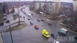 Webcam at the intersection of Nevsky - Komsomol (Petrozavodsk, Russia)