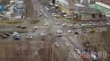 Webcam at the crossroads of Lenin - Marshal Zhukov (Nizhnevartovsk, Russia)