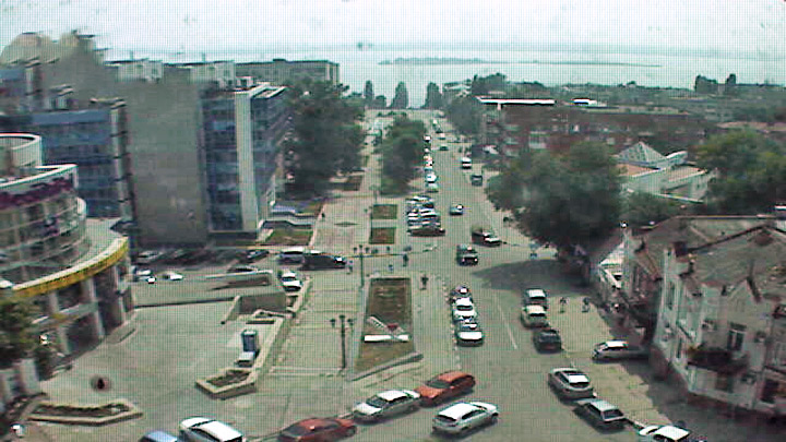 October street webcam in Saratov