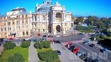Webcam with a view of the Opera House in Odessa