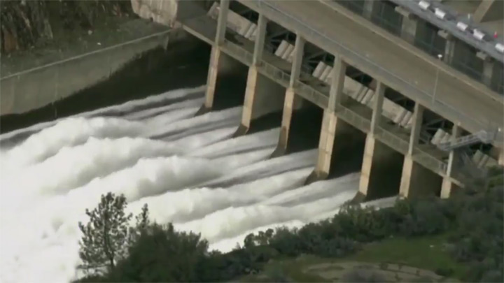 The threat of a dam break in the USA! Live broadcast!