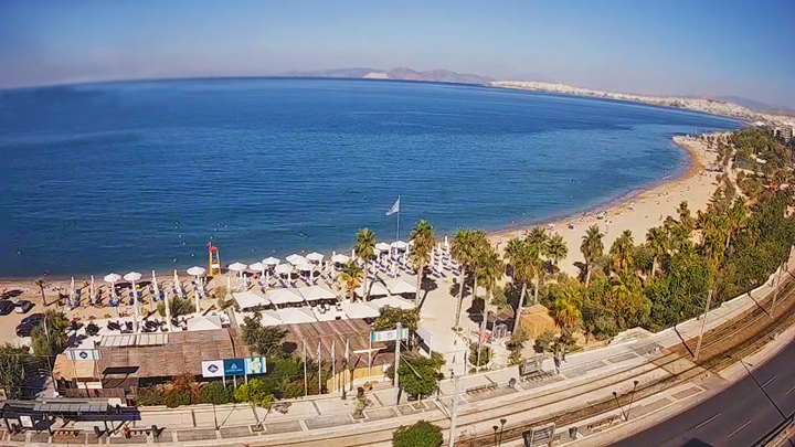 Paleo Faliro Beach Webcam, Athens, Greece