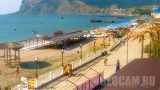 Panoramic webcam in Koktebel