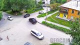 Webcam at the crossroads of Koshevoy/Petrov, Biysk city (Biysk, Russia)