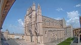 Webcam on Cathedral Square of Orvieto, Italy