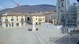 Saint Benedict Square Webcam, Norcia, Italy