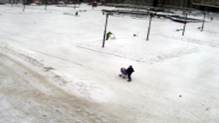 Веб-камера на площади Пименова