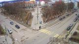 Kirov Square webcam in Sortavala