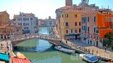 Webcam with a view of the Ponte delle Guglie bridge, Venice, Italy (Venice, Italy)