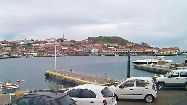 Port of Gustavia Webcam