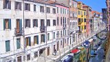 Webcam on the Rio de San Barnaba canal embankment, Venice (Venice, Italy)