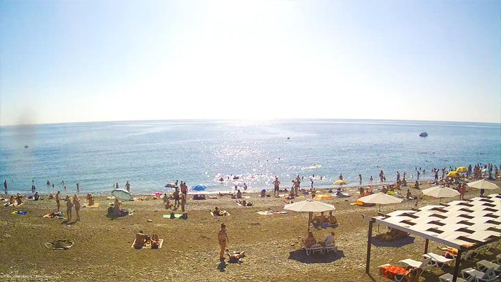 Веб-камера пляжа «Ривьера»