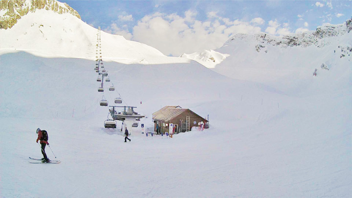Webcam at the ski area «Circus-2»