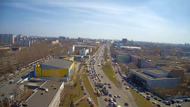 Ryazan Avenue webcam
