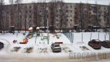 Online webcam at the playground on Sadovaya Street, 20 (Kashira, Russia)