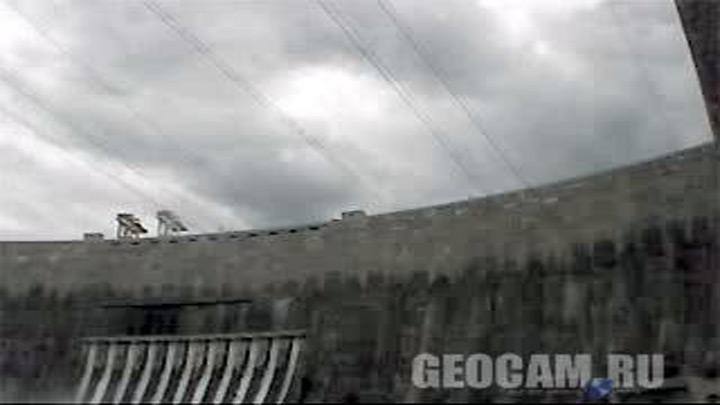Sayano–Shushenskaya hydroelectric power station webcam